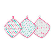 ideal baby by the makers of aden + anais®  3-pk. Large Washcloths
