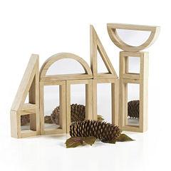 Guidecraft 10-Pc. Mirror Building Blocks Set