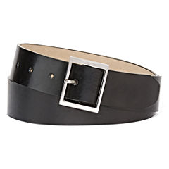 Mixit™ Square-Buckle Black Belt