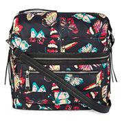 Rosetti Go Zip Side Convertible Shoulder Bag