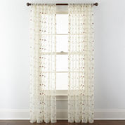 Spring Blossom Rod-Pocket Curtain Panel