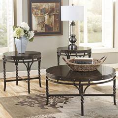 Signature Design by Ashley® Brindleton Occasional Table Set