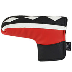 Hot-Z  L-Shape Putter Cover - Two Tone Red/Black/White