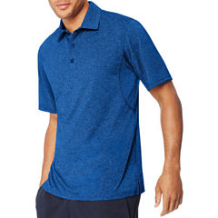 Hanes Quick Dry Short Sleeve Solid Jersey Polo Shirt