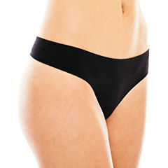 Ambrielle® Everyday Seamless Thong Panties