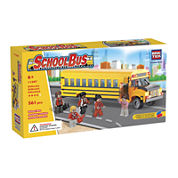 BricTek School Bus Building Set