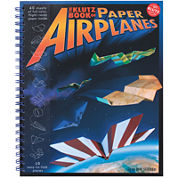 Kultz Book of Paper Airplanes 40-Page Book Kit