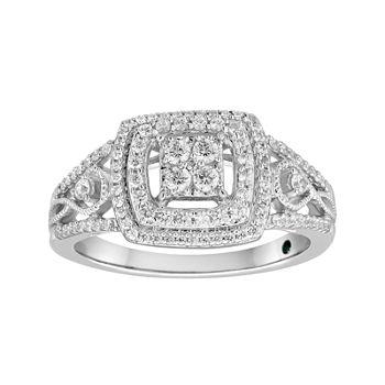 I Said Yes 12 Ct Tw Diamond Engagement Ring