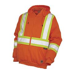 Work King High Visibility Hoodie Jacket