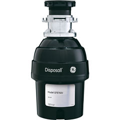 GE® 3/4 HP Batch-Feed Garbage Disposal - Non Corded