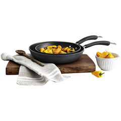 Epicurious® 2-pc. Hard-Anodized Fry Pan Set