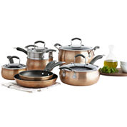 Epicurious® 11-pc. Aluminum Nonstick Cookware Set
