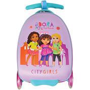 Nickelodeon Dora City Girls Dora the Explorer Hardside Carry-On Luggage