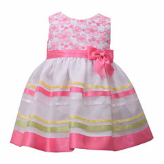 Bonnie Jean Sleeveless Empire Waist Dress - Baby Girls