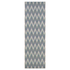 Couristan® Avila Indoor/Outdoor Rectangular Runner Rug