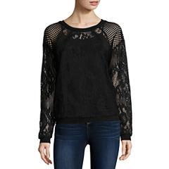 i jeans by Buffalo Long Sleeve Round Neck T-Shirt
