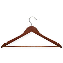 Honey-Can-Do® 24-Pack Nonslip Bar Wood Suit Hangers