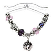 Dazzling Designs™ Adjustable Tree of Life Bracelet