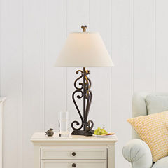 JCPenney Home™ Iron Scroll Table Lamp