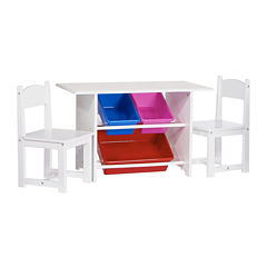 Riverridge Kids 6-pc. Kids Table + Chairs-Painted