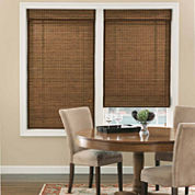 Bali Natural Custom Cordless Roman Shades