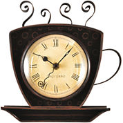 FirsTime® Coffee Cup Clock