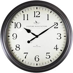 FirsTime® Avery Whisper Clock