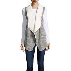 Almost Famous Fleece Vest-Juniors