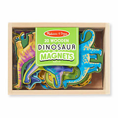 Melissa & Doug® Magnetic Wooden Dinosaurs