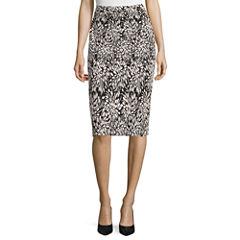 Liz Claiborne® Knit Pencil Skirt