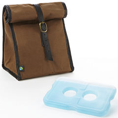 Fit & Fresh® Men's Classic Lunch Bag with Ice Pack