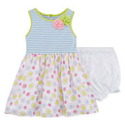 Marmellata Sleeveless Striped Dress - Baby Girls 3m-24m