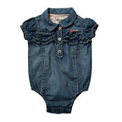 Levi's® Denim Creeper - Baby Girls 12m-24m