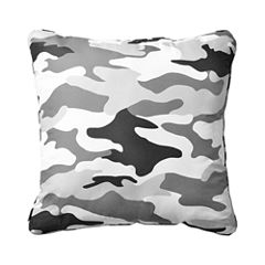 Cadet Camo Square Decorative Pillow