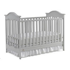 Fisher-Price® Charlotte 2-in-1 Convertible Crib - Camel Grey