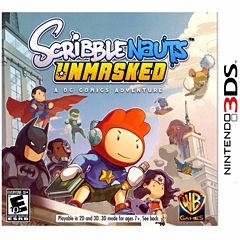 Scribblenauts Unmasked Video Game-Nintendo 3DS