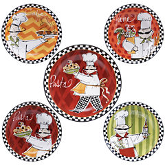 Certified International Chefs on the Go 5-pc. Pasta Bowl Serving Set