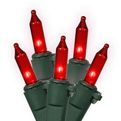 Set Of 100 Red Mini Christmas Lights 4