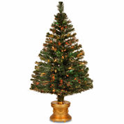 National Tree Co. 4 Foot Evergreen Firework Pre-Lit Christmas Tree