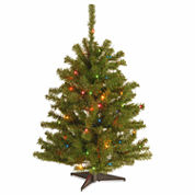 National Tree Co. 3 Foot Eastern Spruce Pre-Lit Christmas Tree