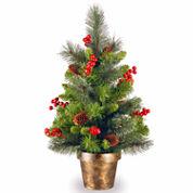 National Tree Co 2 Feet Crestwood Spruce Christmas Tree