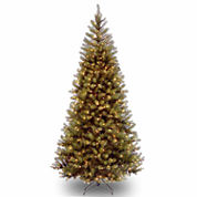 National Tree Co 7 Feet Aspen Spruce Hinged Pre-Lit Christmas Tree
