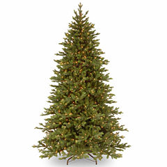 National Tree Co. 7 1/2 Foot Yukon Fir Pre-Lit Christmas Tree