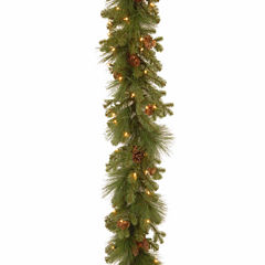 National Tree Co. Eastwood Spruce Feel Real Christmas Garland