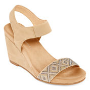 CL by Laundry Womens Strap Sandals