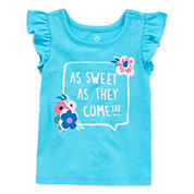 Okie Dokie Girls Graphic T-Shirt-Baby