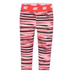 Nike Solid Jersey Leggings - Toddler Girls