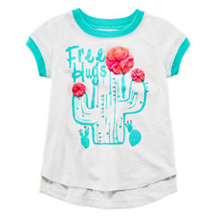 Arizona Short Sleeve T-Shirt-Toddler Girls