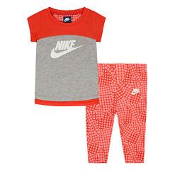 Nike Legging Set-Preschool Girls