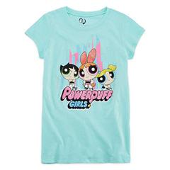 Short Sleeve Round Neck My Little Pony T-Shirt-Big Kid Girls